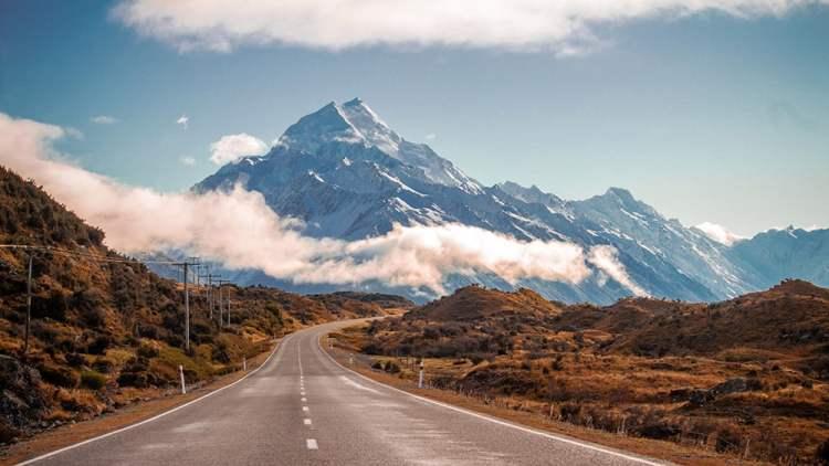 Uma postagem de blog sobre os passeios mais pitorescos da Nova Zelândia