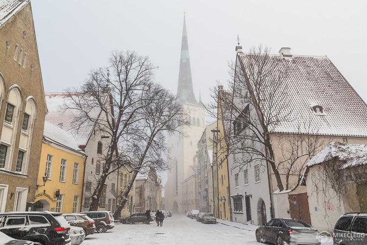 Uma vista da Igreja de St Olaf
