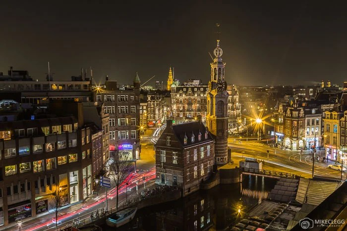 Vistas altas de Amsterdã