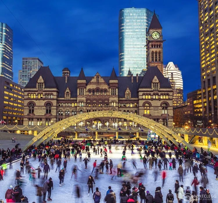 Nathan Phillips Square and Old City Hall