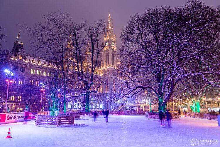 Wiener Eistraum, Vienna Ice World, Rathaus