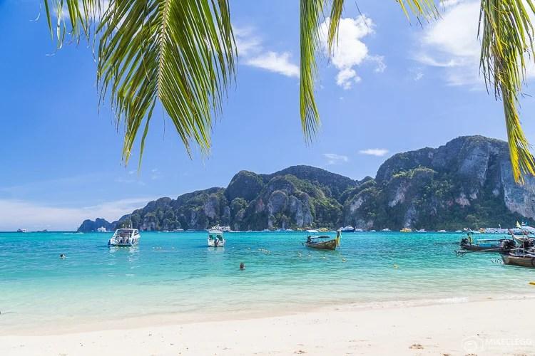 Belas praias em Ko Phi Phi