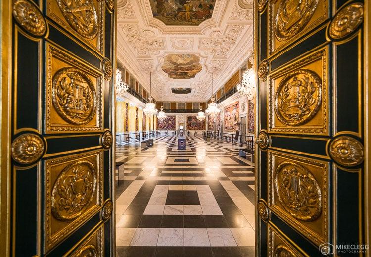 Salas de recepção reais, Palácio de Christiansborg