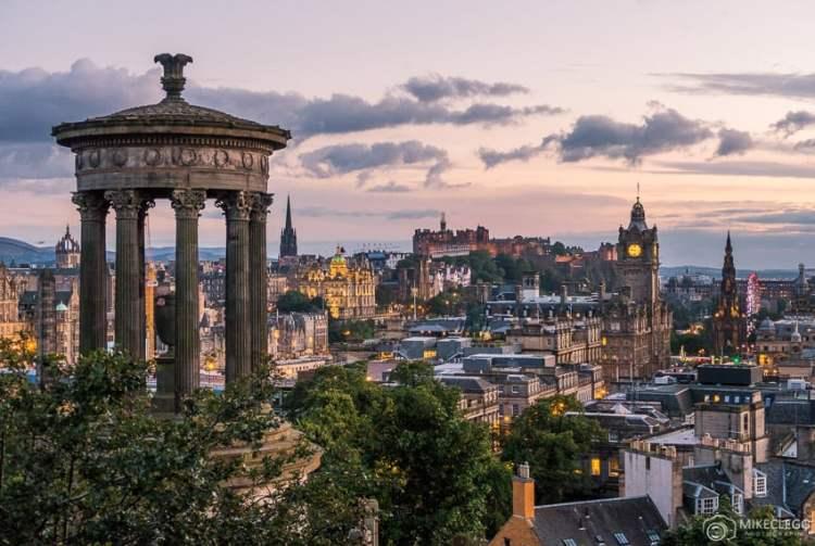 Vista de Calton Hill, Edimburgo
