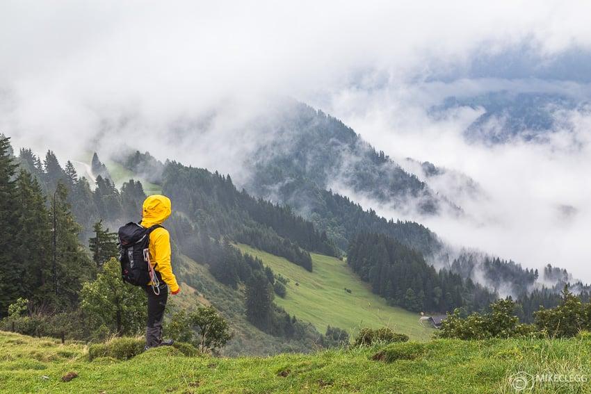 Caminhadas nas montanhas de Almenwelt Lofer