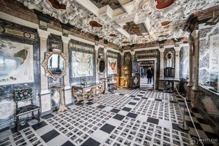 Câmara de Mármore, Castelo de Rosenborg