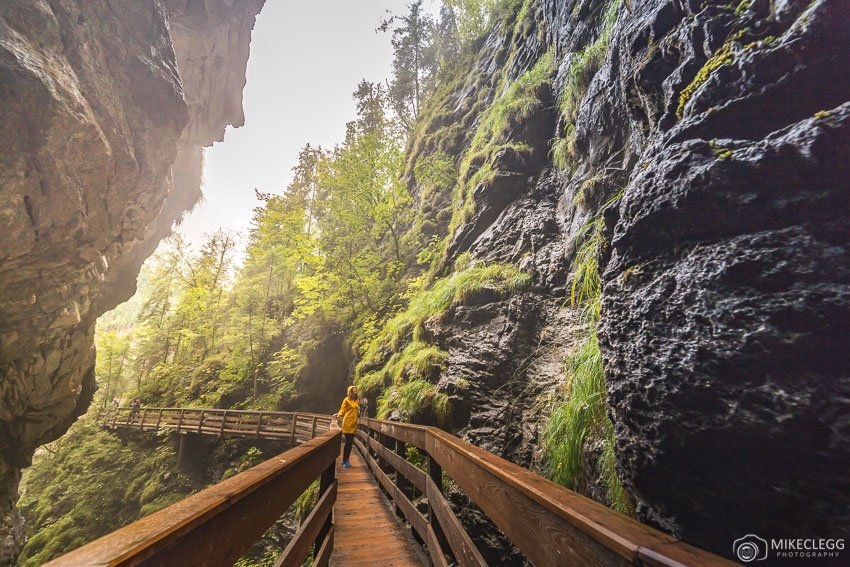 Vorderkaserklamm Gorge, Áustria