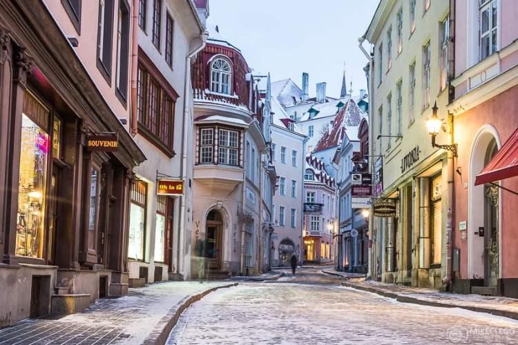 Pikk Street em Tallinn