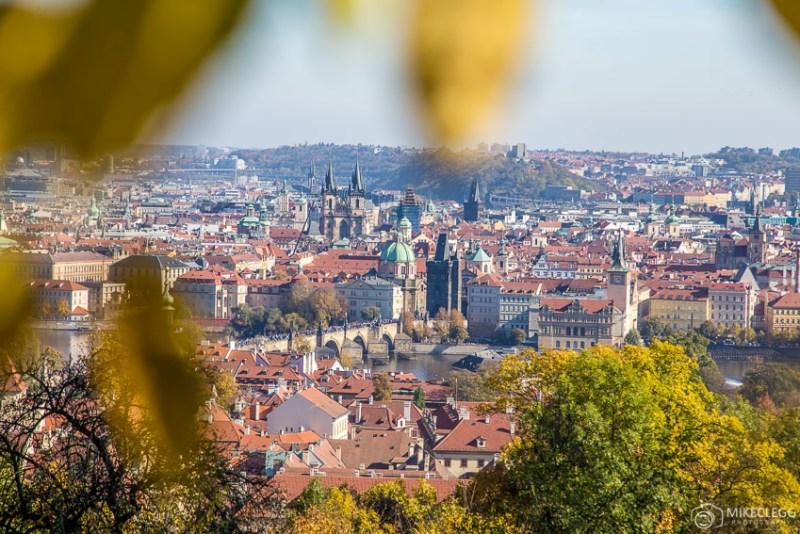 Vistas do Parque Petřín, Praga