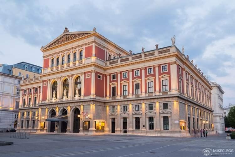 Salas de concertos em Viena