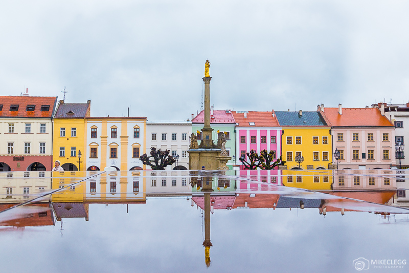 A praça principal de Kromeriz, República Tcheca
