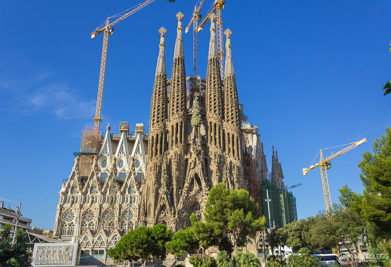 Basílica de la Sagrada Familia exterior