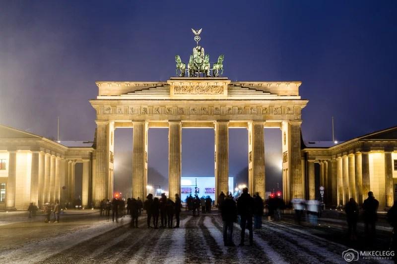 Berlim e Portão de Brandemburgo