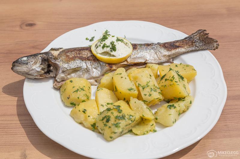 Alimentos na Gasthof Grüner See