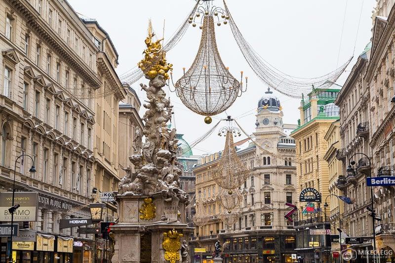 Graben em Viena, inverno