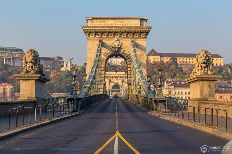 Széchenyi Chain Bridge Budapeste