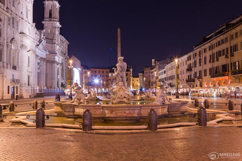 Piazza Navona à noite