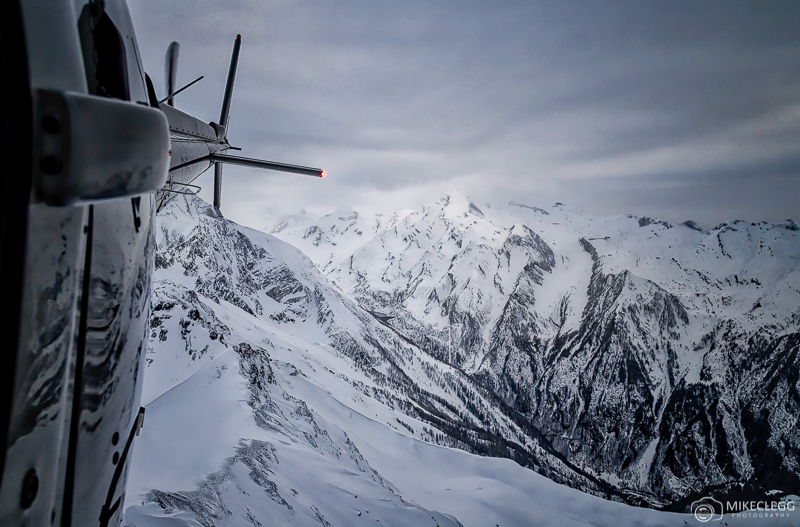 Voos de helicóptero em Zell am See, Áustria