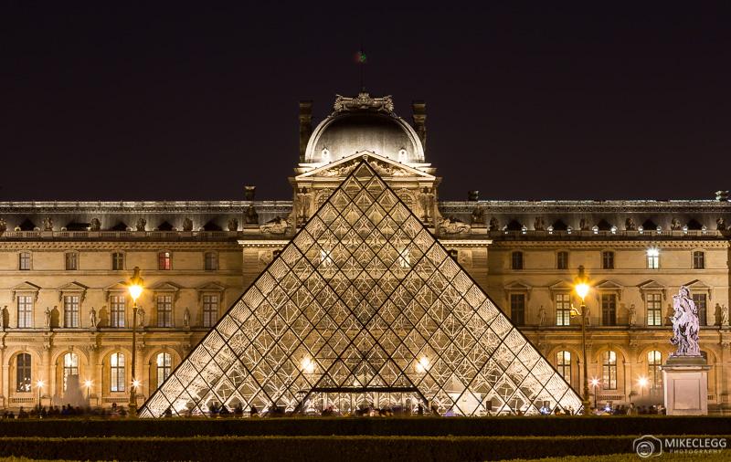 Museu do Louvre em Paris - Exterior
