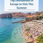 Principais destinos para visitar na Europa neste verão - Pin