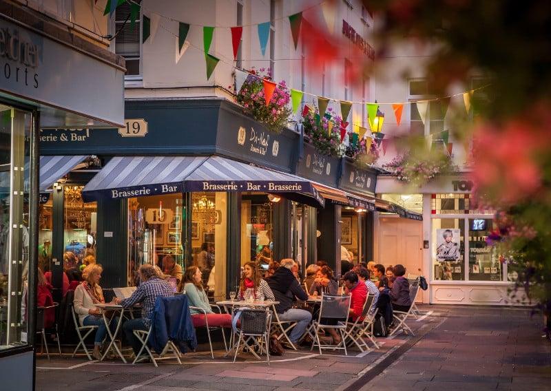 Restaurantes em Guernsey