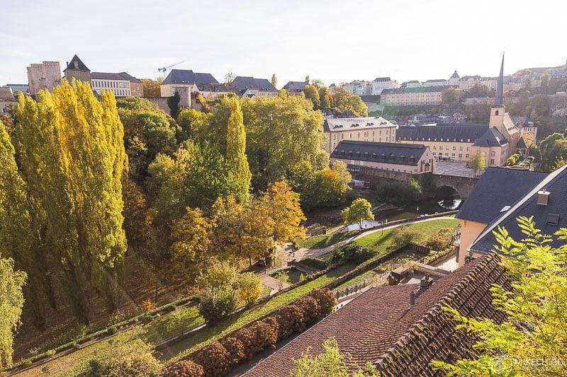 Luxemburgo no outono