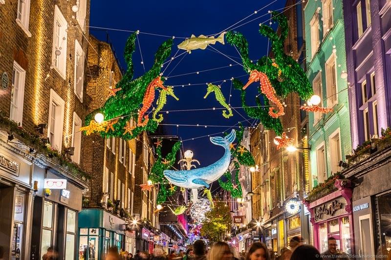 Carnaby Street - Luzes de Natal 2019