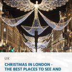 Natal em Londres - Os melhores lugares para ver e fotografar as luzes