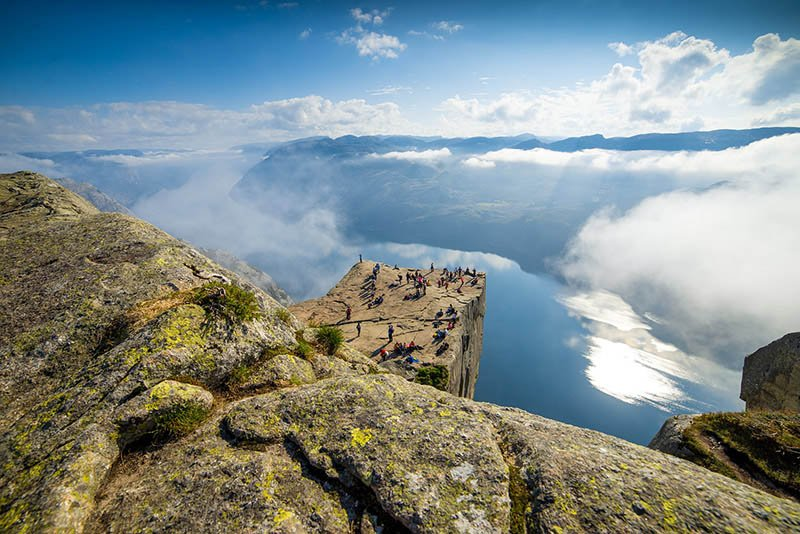 Preikestolen Noruega - CC0