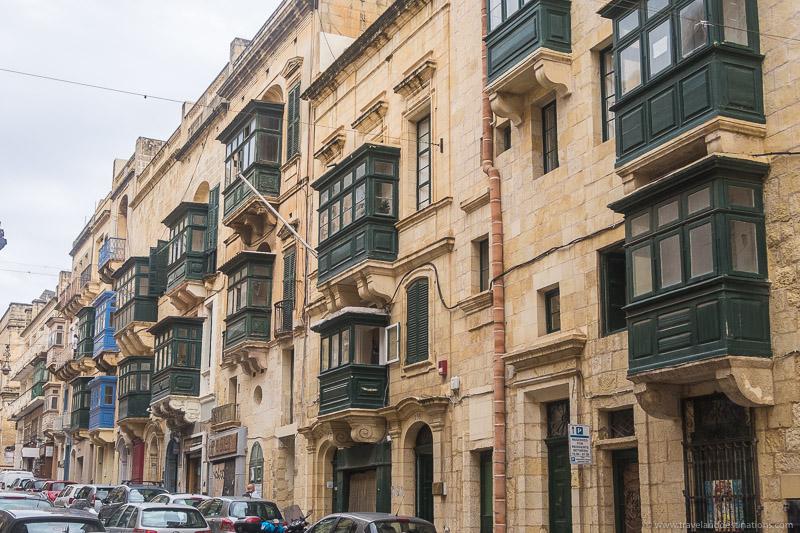 Varandas tradicionais maltesas