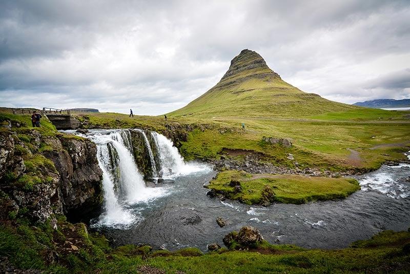 Cachoeira Kirkjufell, Islândia
