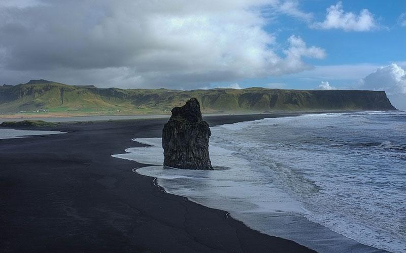 Praia Reynisfjara, Islândia