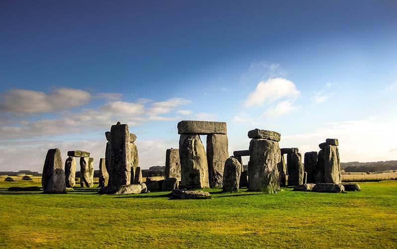 Stonehenge durante o dia
