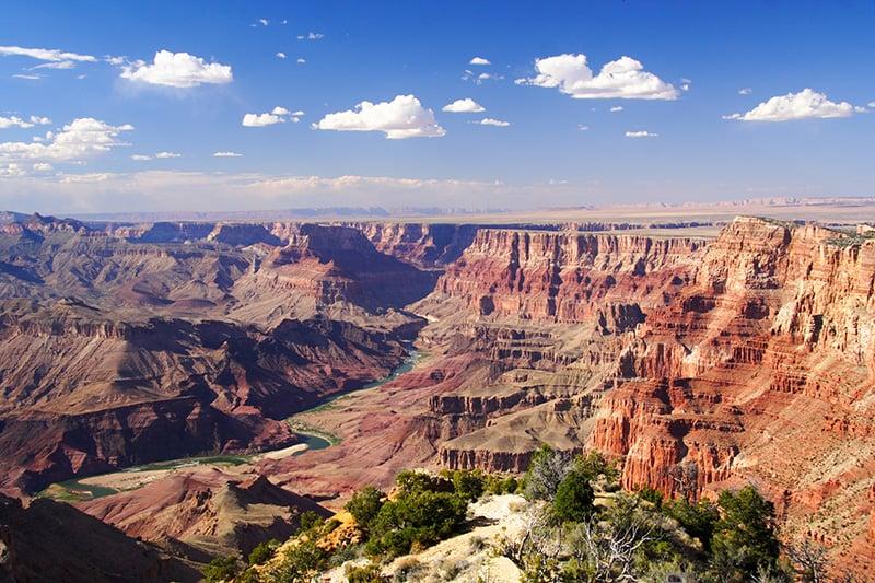 Vistas do Grand Canyon, Parque Nacional