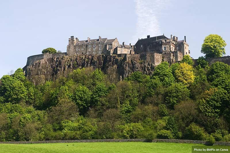 Magnífico Castelo de Stirling