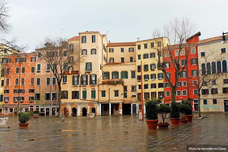 Novo gueto judeu de Veneza