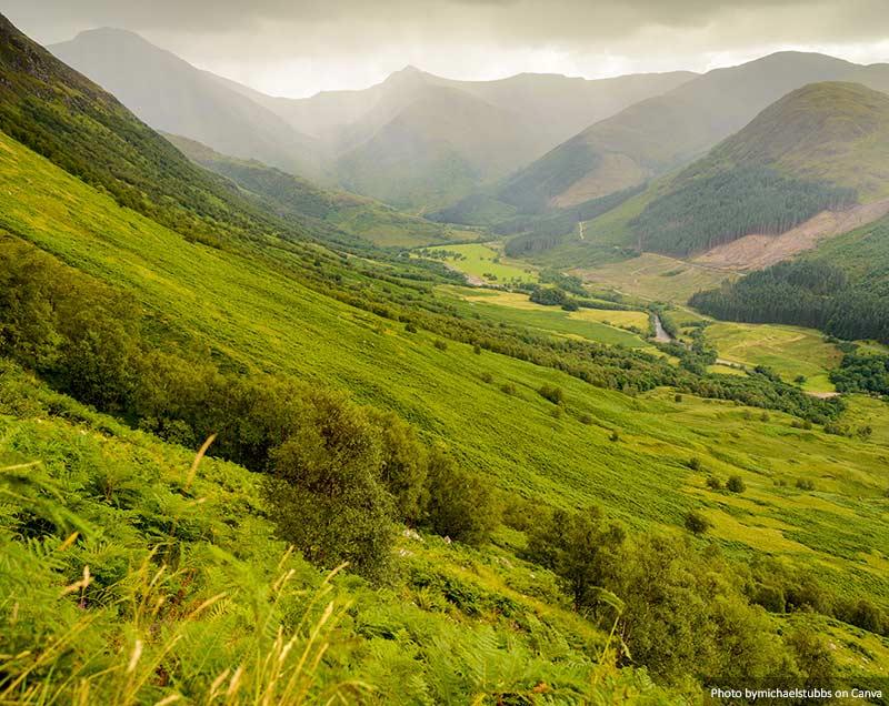 Vista de Ben Nevis