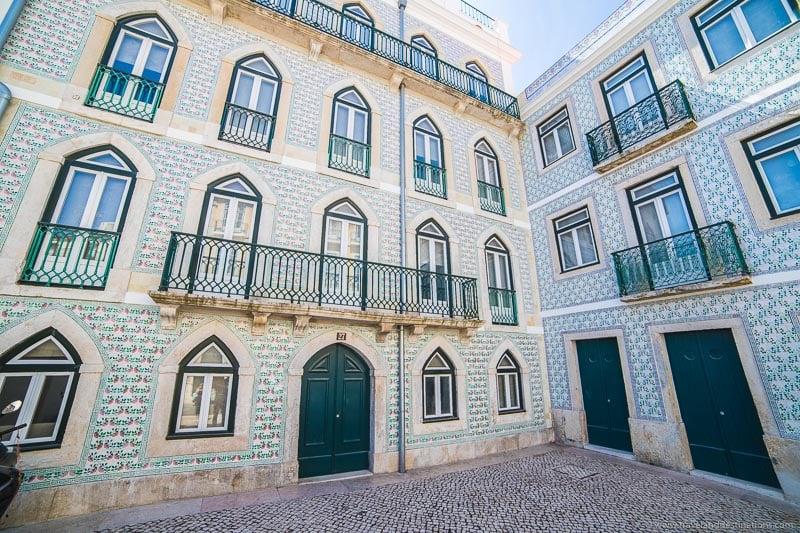 Arquitetura em Alfama, Lisboa