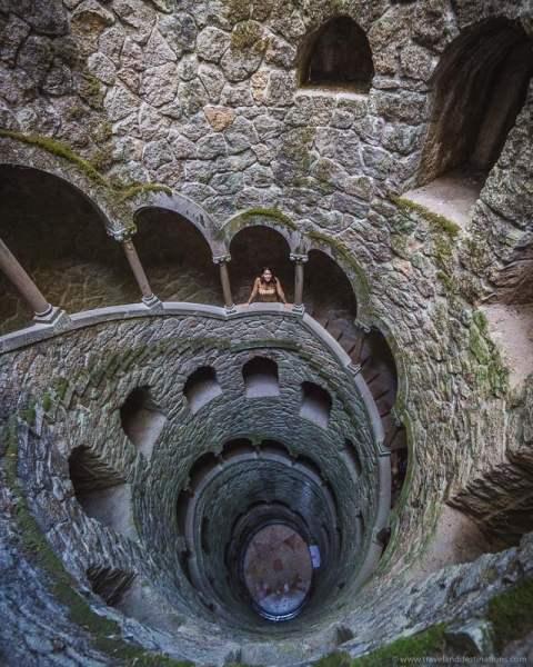 Poço de Iniciação na Quinta da Regaleira, Sintra