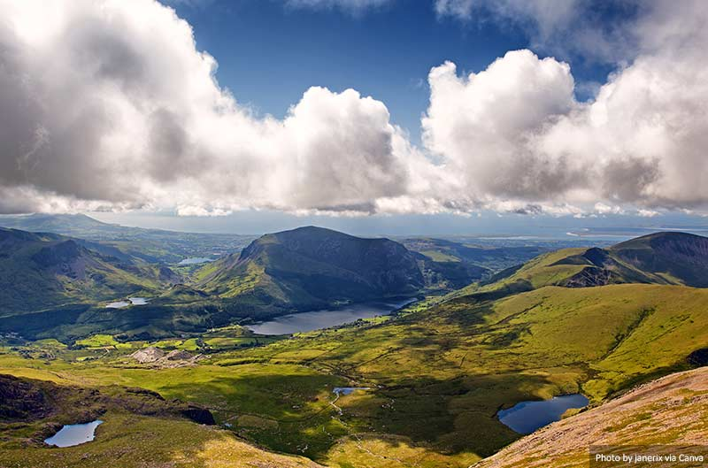 Paisagem Snowdonia