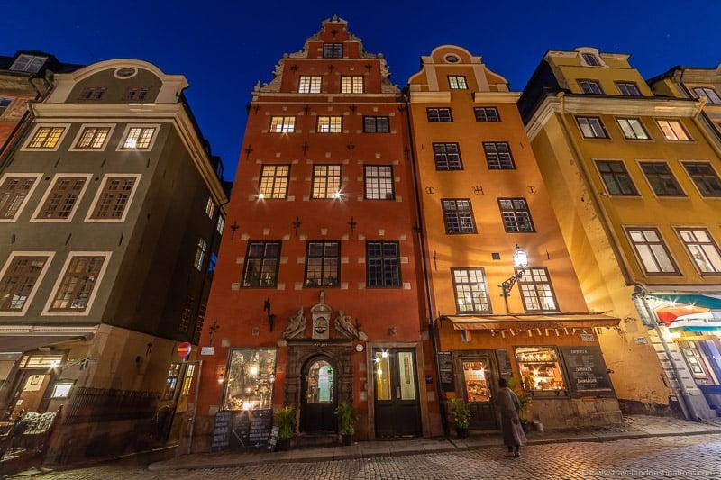 Arquitetura clássica em Stortorget