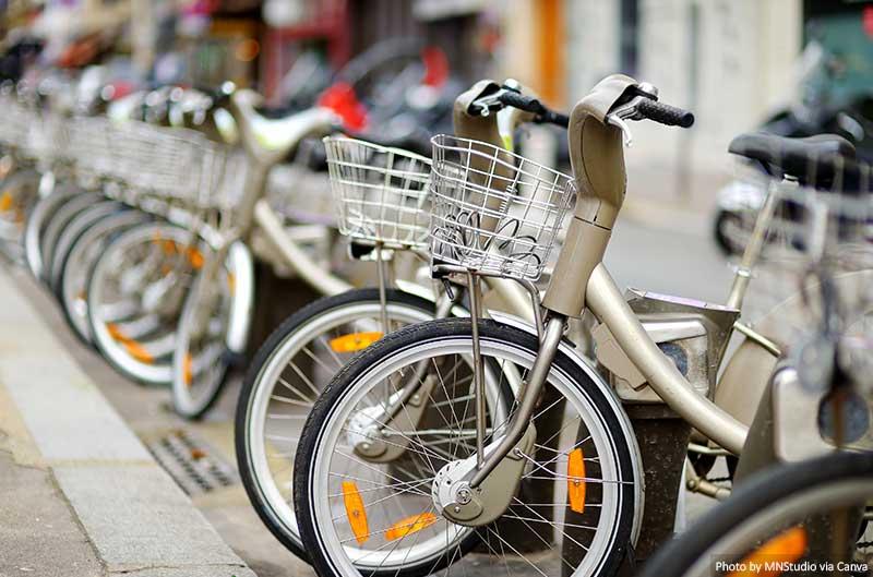 Bicicletas em paris