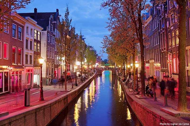 Distrito da Luz Vermelha de Amsterdã