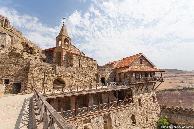 Complexo do mosteiro David Gareja