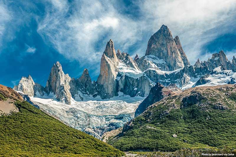Montanha Fitz Roy, El Chalten, Patagônia