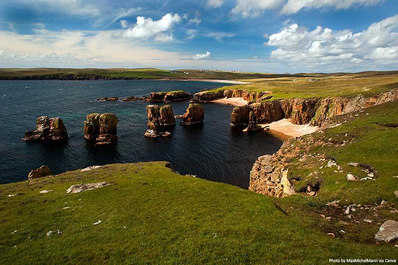 Penhascos de Eshaness, Ilhas Shetland