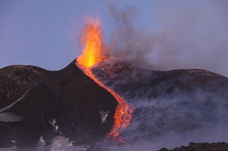Erupção do Monte Etna