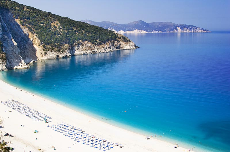 Praia Myrtos, Ilha Kefalonia