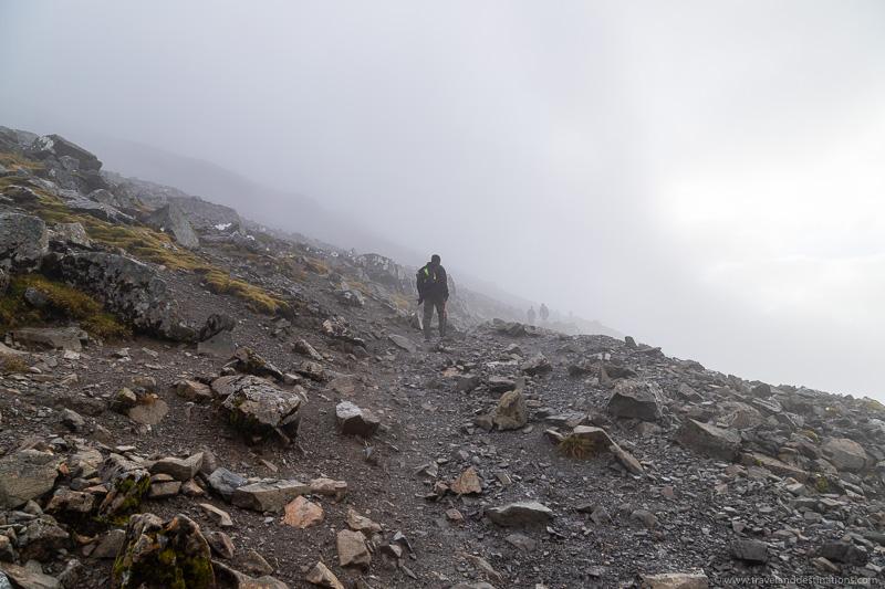 Foggy Misty Walks em Ben Nevis