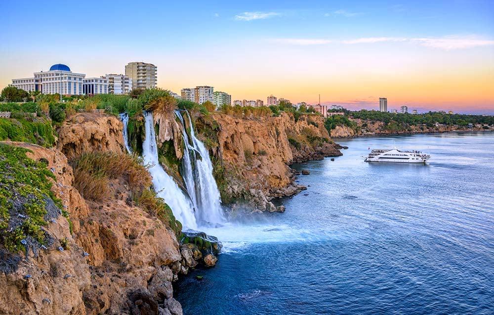 Cachoeiras Duden, Antalya